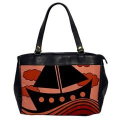Boat - red Office Handbags