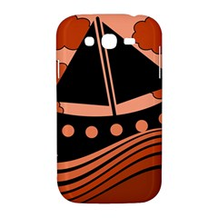 Boat - red Samsung Galaxy Grand DUOS I9082 Hardshell Case