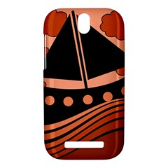 Boat - red HTC One SV Hardshell Case