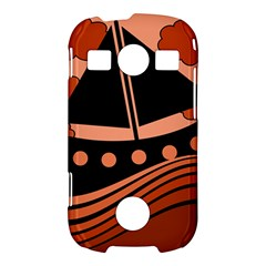 Boat - red Samsung Galaxy S7710 Xcover 2 Hardshell Case