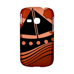 Boat - red Samsung Galaxy S6310 Hardshell Case