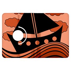 Boat - red Kindle Fire HDX Flip 360 Case