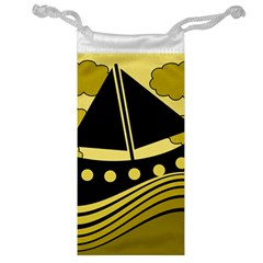 Boat   Yellow Jewelry Bags