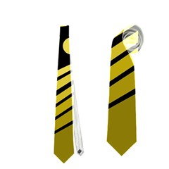 Boat - yellow Neckties (Two Side)