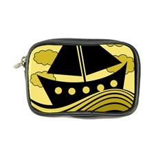 Boat - yellow Coin Purse