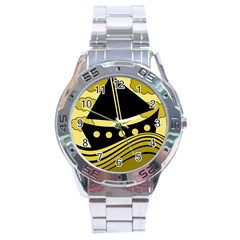 Boat - yellow Stainless Steel Analogue Watch