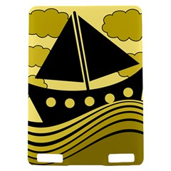 Boat - yellow Kindle Touch 3G