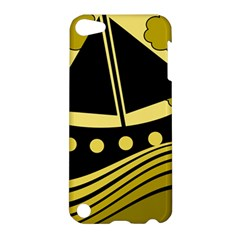 Boat - yellow Apple iPod Touch 5 Hardshell Case