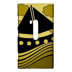 Boat - yellow Nokia Lumia 920