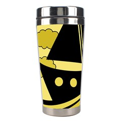 Boat - yellow Stainless Steel Travel Tumblers