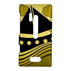 Boat - yellow Nokia Lumia 928