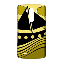 Boat - yellow LG G3 Back Case