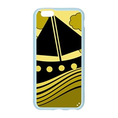 Boat - yellow Apple Seamless iPhone 6/6S Case (Color)