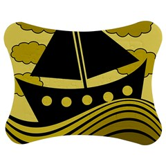 Boat - yellow Jigsaw Puzzle Photo Stand (Bow)