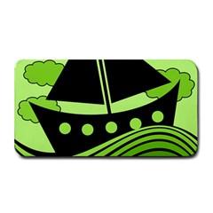 Boat - green Medium Bar Mats