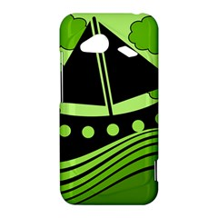 Boat - green HTC Droid Incredible 4G LTE Hardshell Case
