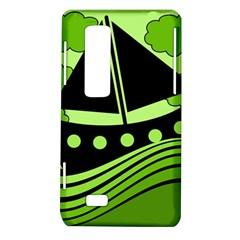Boat - green LG Optimus Thrill 4G P925