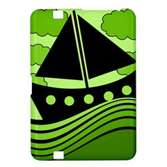 Boat - green Kindle Fire HD 8.9
