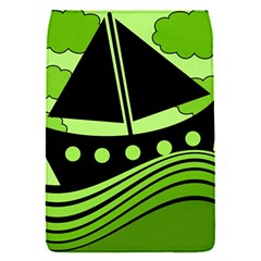 Boat - green Flap Covers (S)