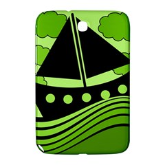 Boat - green Samsung Galaxy Note 8.0 N5100 Hardshell Case