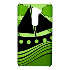 Boat - green LG G2