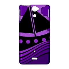 Boat - purple Sony Xperia V