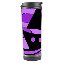 Boat - purple Travel Tumbler