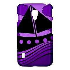Boat - purple LG Optimus L7 II