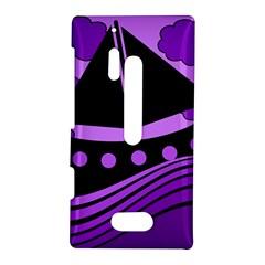 Boat - purple Nokia Lumia 928