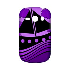 Boat - purple Samsung Galaxy S6810 Hardshell Case