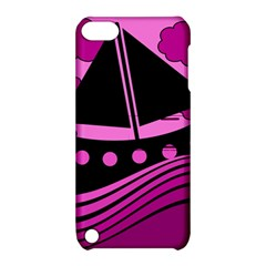 Boat - magenta Apple iPod Touch 5 Hardshell Case with Stand