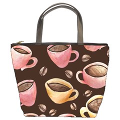 Coffee House Barista  Bucket Bags
