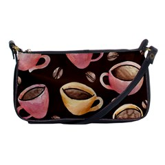 Coffee House Barista  Shoulder Clutch Bags