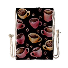 Coffee House Barista  Drawstring Bag (Small)
