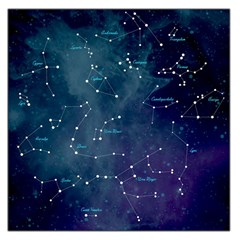 Constellations Large Satin Scarf (square)