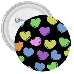 Valentine s Hearts 3  Buttons