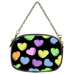 Valentine s Hearts Chain Purses (two Sides)