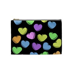 Valentine s Hearts Cosmetic Bag (Medium)