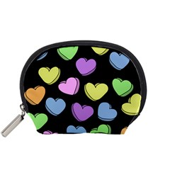 Valentine s Hearts Accessory Pouches (small)