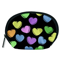 Valentine s Hearts Accessory Pouches (medium)