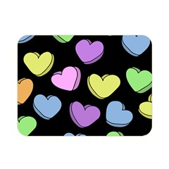 Valentine s Hearts Double Sided Flano Blanket (Mini)