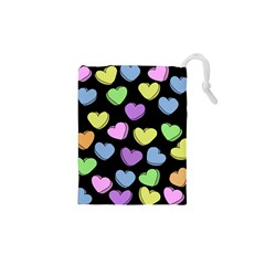 Valentine s Hearts Drawstring Pouches (xs)