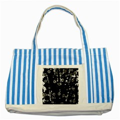 Old love Striped Blue Tote Bag