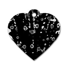 Old love Dog Tag Heart (Two Sides)