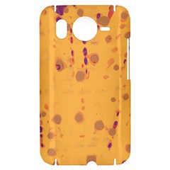 Orange decor HTC Desire HD Hardshell Case
