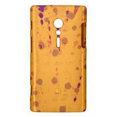Orange decor Sony Xperia ion