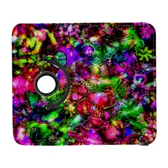 Pink Floral Abstract Samsung Galaxy S  III Flip 360 Case