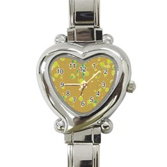 Digital art Heart Italian Charm Watch