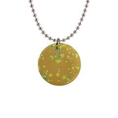 Digital art Button Necklaces