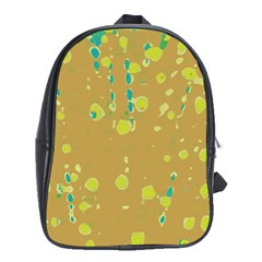 Digital art School Bags (XL)